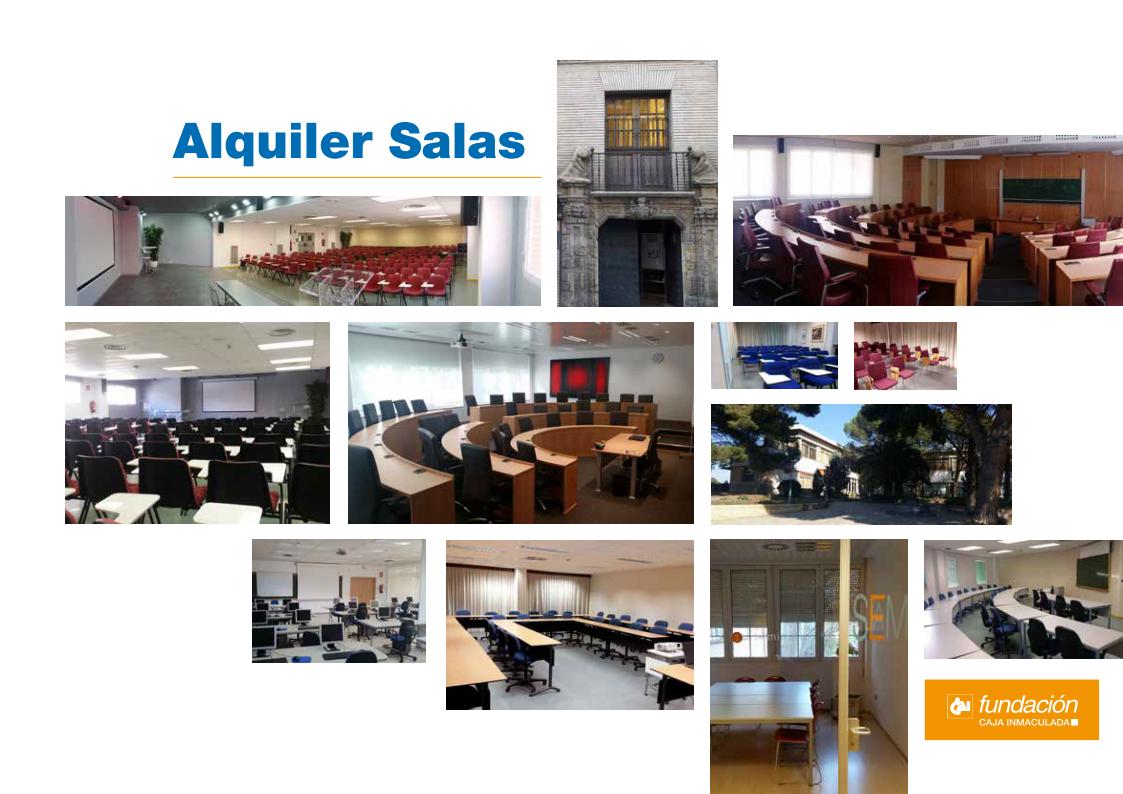 Alquiler salas de la Fundación CAI